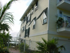 Bahama Shutter Installation